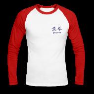 Langarmshirts ~ Männer Baseballshirt langarm ~ Yiquan - Germany - Langarm