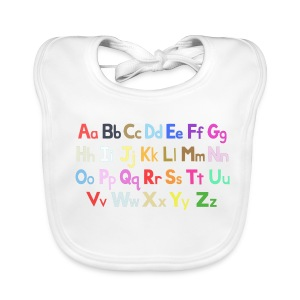 Alphabet 2 - Baby Organic Bib