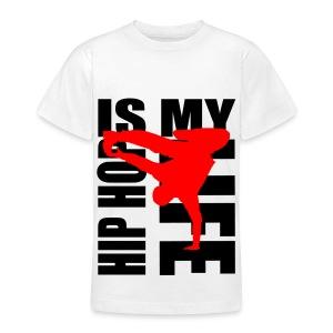 T shirt ado hip hop is my life - T-shirt Ado