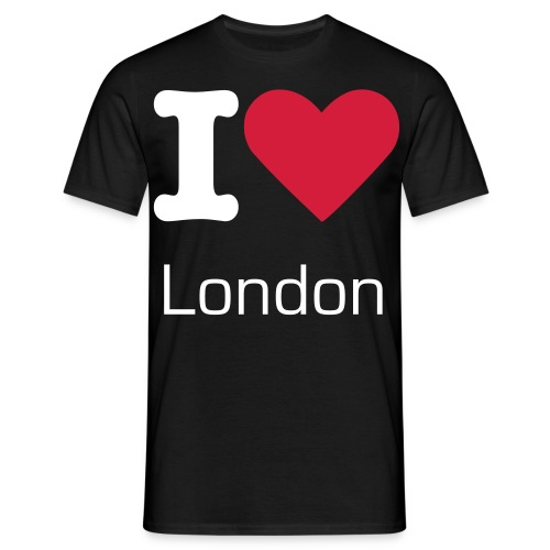 T-shirt I love London homme  - T-shirt Homme