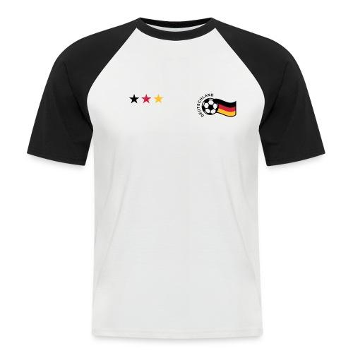 Retro Shirt Deutschland - Männer Baseball-T-Shirt