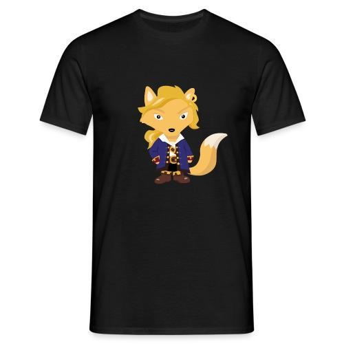 Renard Guybrush - T-shirt Geek - T-shirt Homme