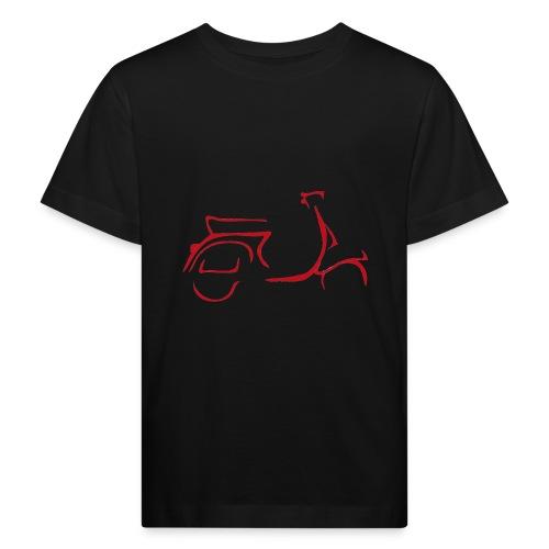 Kinder Shirt organic mit Vespa - Kinder Bio-T-Shirt