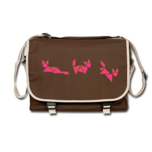 tagram cat fox pink - Shoulder Bag