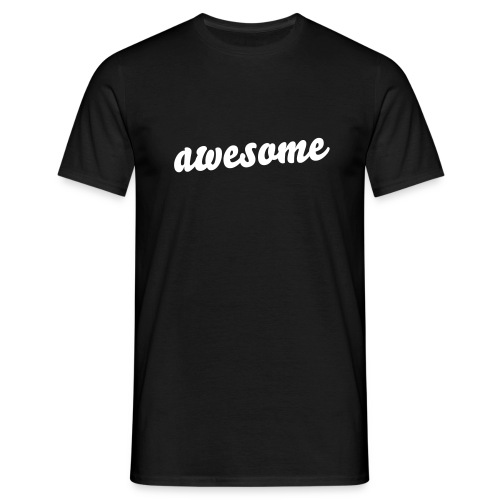 Awesome - Mannen T-shirt