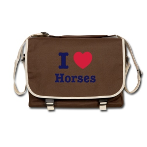 I love Horses - Shoulder Bag