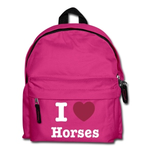 I love Horses - Kids' Backpack