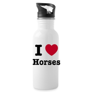 I love Horses - Water Bottle