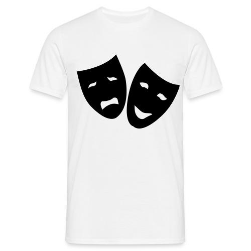 Masken Shirt - Männer T-Shirt