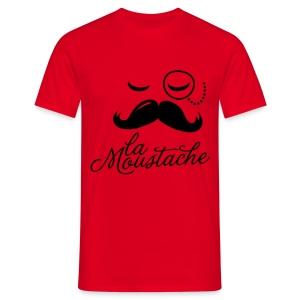mustache - Mannen T-shirt