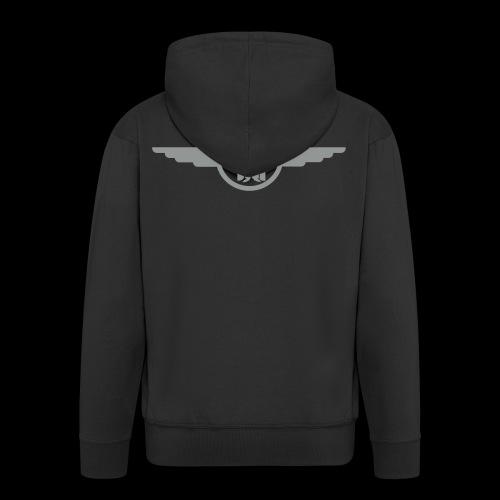 Kapuztenjacke Skull & Wings - Männer Premium Kapuzenjacke