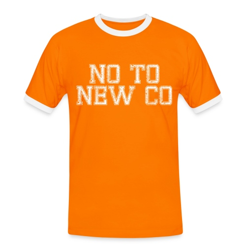 No To New Co - Men's Ringer Shirt