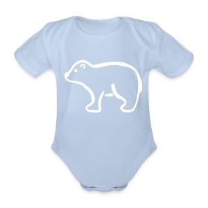 Eisbär Body - Baby Bio-Kurzarm-Body
