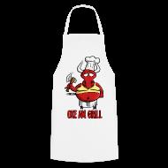 Schürzen ~ Kochschürze ~ Hornoxe Grillschürze - Oxe am Grill