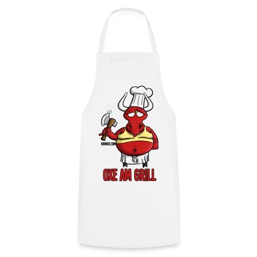 Hornoxe Grillschürze - Oxe am Grill - Kochschürze