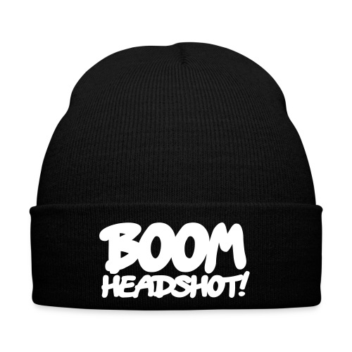 boom headshot! 1c AT - Cappellino invernale