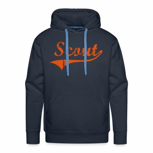 Scout - Sweat-shirt à capuche Premium pour hommes