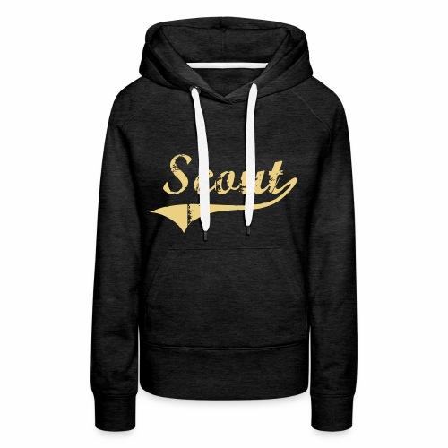 Scout - Sweat-shirt à capuche Premium pour femmes