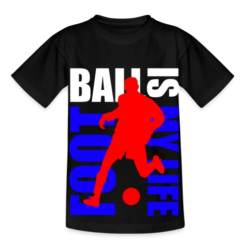 T shirt enfant football is my life - T-shirt Enfant