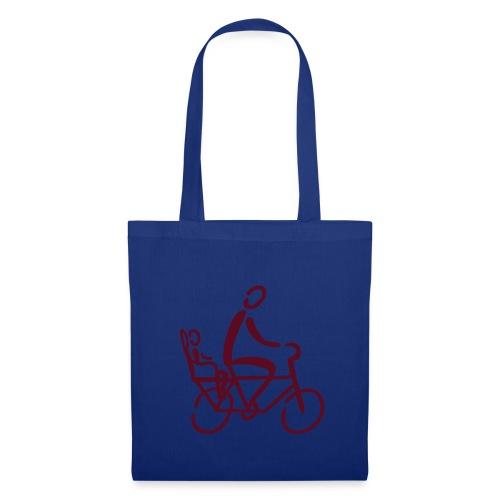 Fahrradsitz Tasche - Stoffbeutel