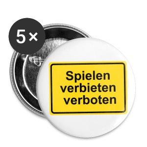 Spielen - Buttons klein 25 mm