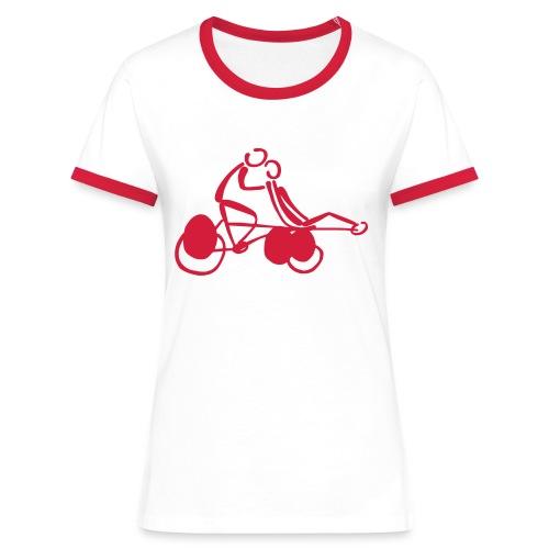 Pino Shirt - Frauen Kontrast-T-Shirt