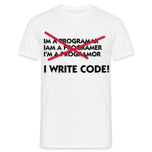 I Write code! - Men's T-Shirt