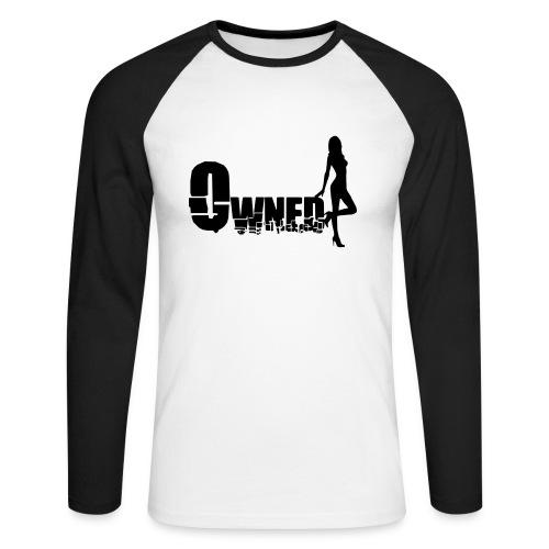 Owned Long Sleeve - Men's Long Sleeve Baseball T-Shirt