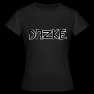 T-Shirts ~ Frauen T-Shirt ~ DAZKE Frauen T-Shirt klassisch