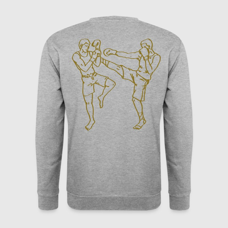 boxe thai - Sweat-shirt Homme