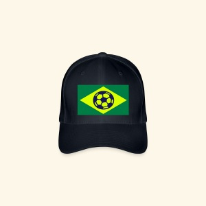 BRAZIL SOCCER FOOTBALL CAPS - Casquette Flexfit