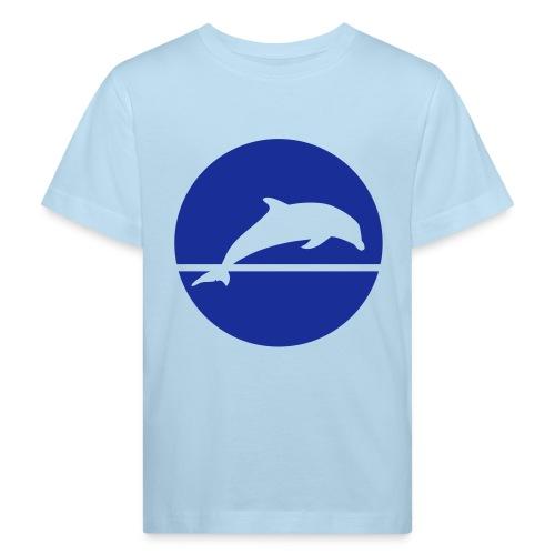 Dolphin play 2 - Kids' Organic T-Shirt