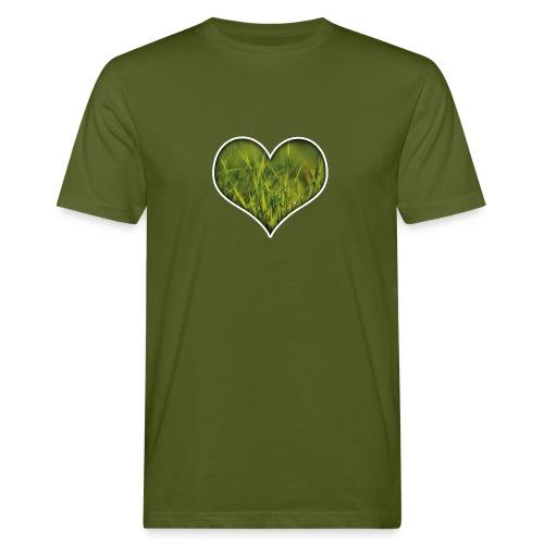 Herz Shirt - Umweltfreundlich! - Männer Bio-T-Shirt