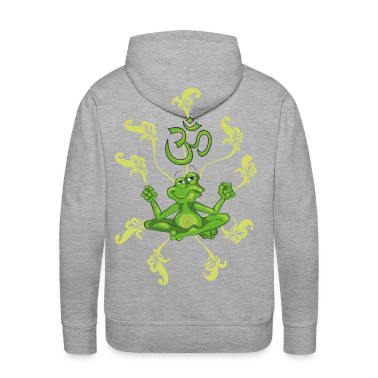 Little frog in the  position meditating Hoodies & Sweatshirts