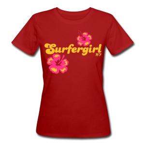 Surfergirl - Frauen Bio-T-Shirt