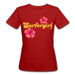 Surfergirl - Frauen Bio-T-Shirt