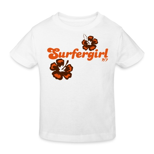 Surfergirl  - Kinder Bio-T-Shirt