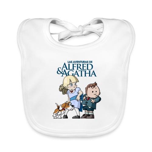 Alfred & Agatha 1 - Babero ecológico bebé