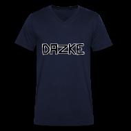 T-Shirts ~ Männer T-Shirt mit V-Ausschnitt ~ DAZKE V-Kragen T-Shirt