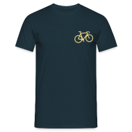 T-Shirts ~ Men's T-Shirt ~ Bicycle T Shirt Mens