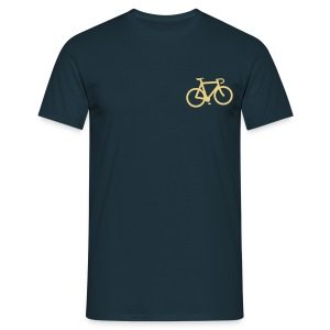 Bicycle T Shirt Mens - Men's T-Shirt