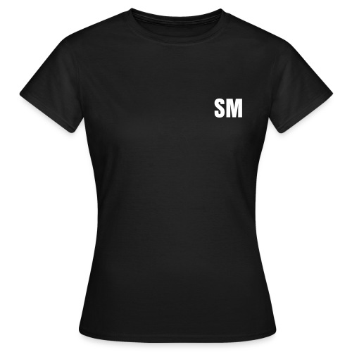 WOMEN'S Backstage T-Shirt - CREW - Front and Back writing - Text Changeable - Women's T-Shirt