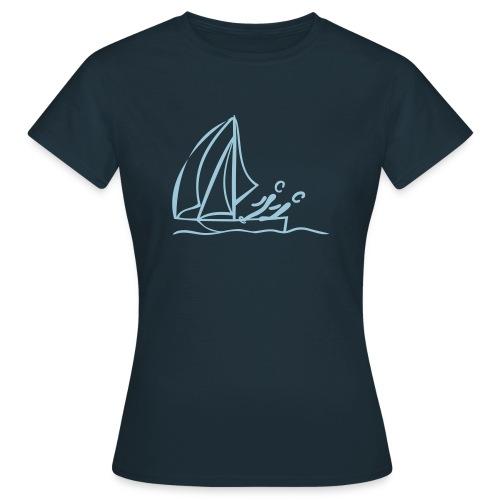 Segeln Shirt - Frauen T-Shirt