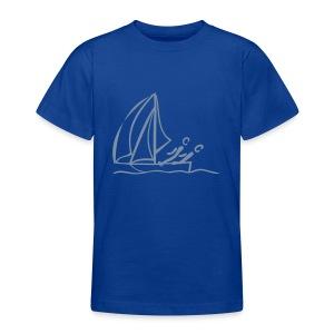Segeln Shirt - Teenager T-Shirt