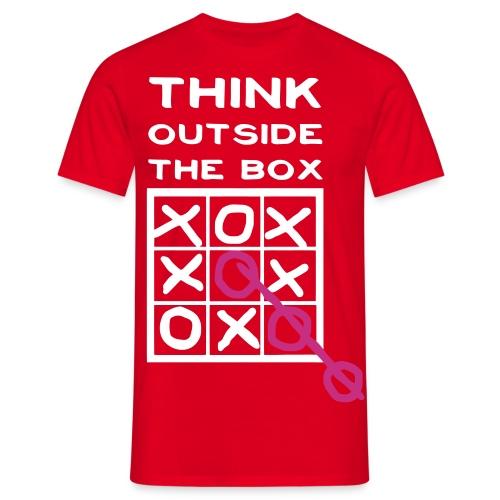 Clencer Think outside T-Shirt - Herre-T-shirt