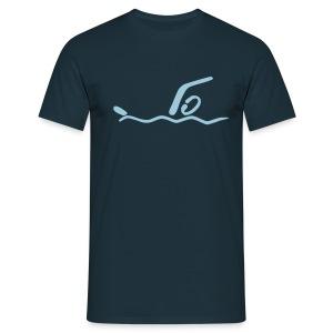 Schwimmen Shirt - Männer T-Shirt