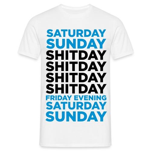 Shitday - Herre-T-shirt