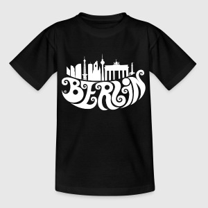 Berlin (weiß) Kinder T-Shirts - Teenager T-Shirt