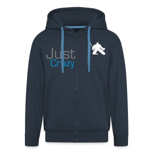 Just Crazy Sweater - Men's Premium Hooded Jacket