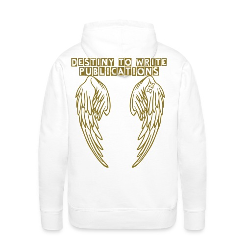 DTWP GOLD ANGEL WINGS - Men's Premium Hoodie